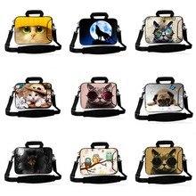 Van Gogh 10 11.6 13.3 14.1 15.6 17.3 inch handbag Laptop protective case Notebook Bag With strap Messenger sleeve cover SB-24818