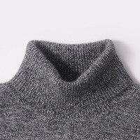 Men Sweater 100 Pure Cashmere Sweaters Winter Warm Turtleneck Pullovers 2015 New Hot Sale Sweater Standard