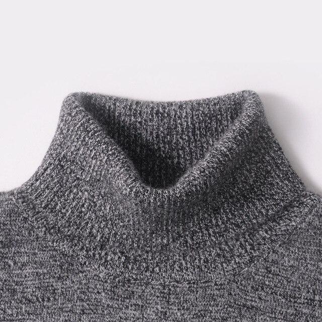 Мужской свитер Зима 100% кашемир и шерсть вязаные свитера теплая водолазка пуловеры 2016 новая горячая Распродажа Свитер стандартная одежда
