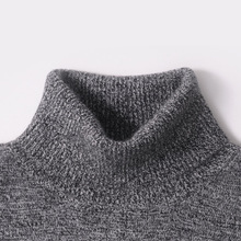 Men Sweater Winter 100% Cashmere and wool Knitted Sweaters Warm Turtleneck Pullovers 2016 New Hot Sale Sweater Standard Clothes