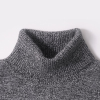 Men Sweater 100 Pure Cashmere Sweaters Winter Warm Turtleneck Pullovers 2015 New Hot Sale Sweater Standard
