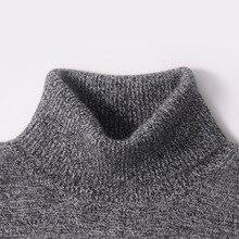 Männer Pullover Winter 100% Reinem Kaschmir Gestrickte Pullover Warm Rollkragen Pullover 2016 Neue Heiße Verkauf Pullover Standard Kleidung