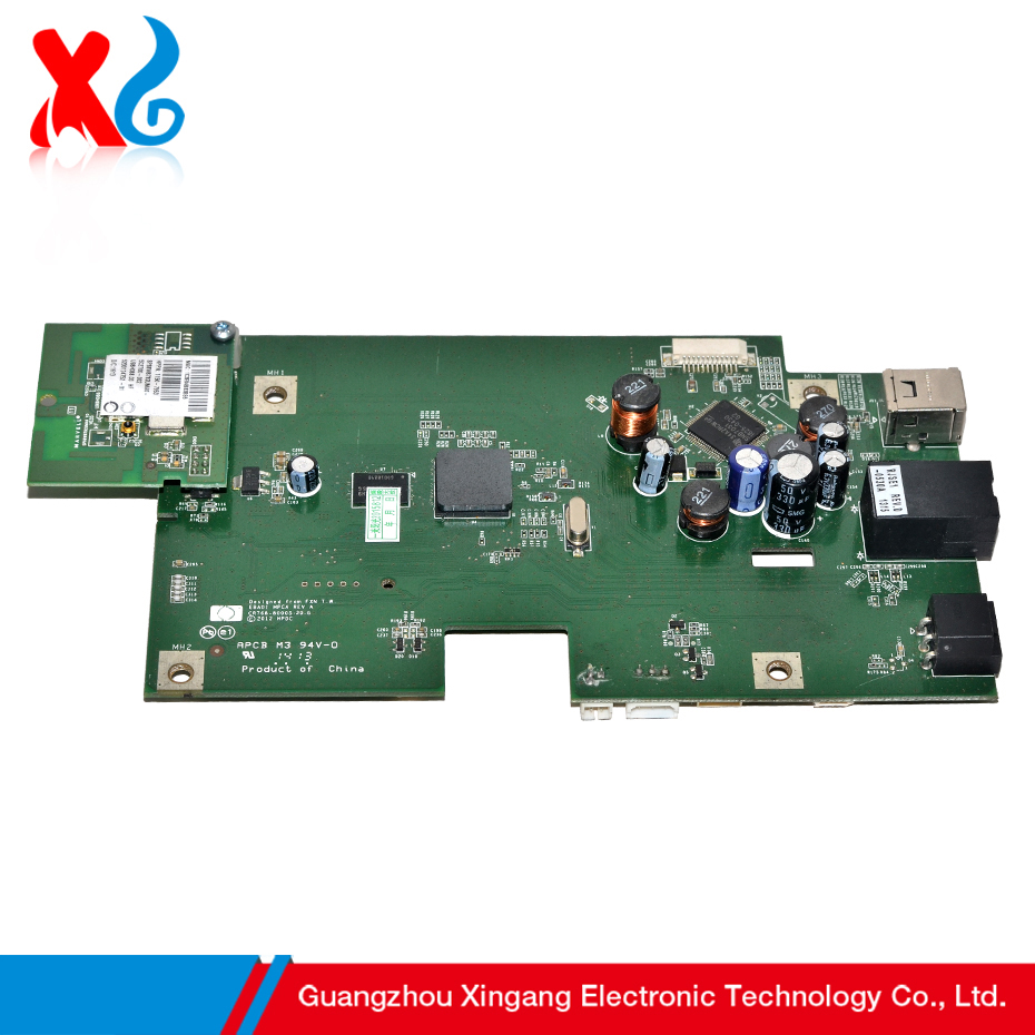 Hot ! OEM Mainboard for HP Officejet 7110 90% New Main Board Printer Parts for HP LJ 7110 High Quality 100% Test Formatter Board brand new inkjet printer spare parts konica 512 head board carriage board for sale