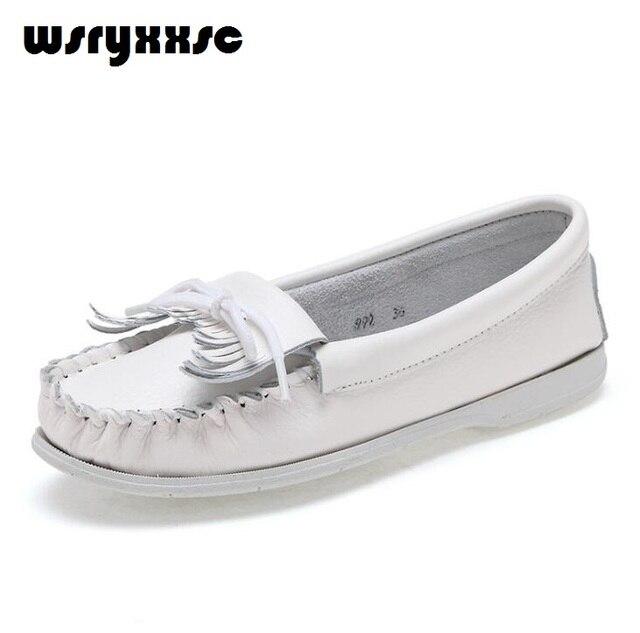 63161f8c500 Mujeres de los colores Planos de Deslizamiento En Los Zapatos Mocasines  Mujer Plus Tamaño de la