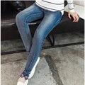 Pantalones Vaqueros de maternidad Durante El Embarazo Ropa Oferta Especial Super Skinny Jeans Pantalones de Mezclilla Cintura Elástica Pantalones Para Mujeres Embarazadas
