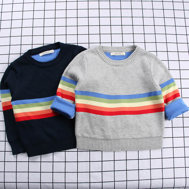 c9ec1c897 Autumn Spring Sweater Style Baby Boys Outerwear Sweater Children ...