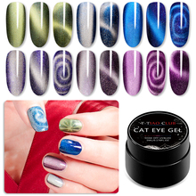 T-TIAO CLUB 5ml 5D Cat Eyes Nail Gel Magnetic Starry Sky Nails Polish Soak Off UV LED Varnish DIY Art Lacquer