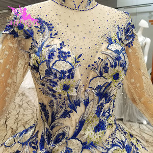 Image 1 - AIJINGYU Wunderschöne Hochzeit Kleider Plus Größe Kleider Neueste Ball 2021 2020 Elegante Kaufen Braut Kleid Hochzeit Kleid Material