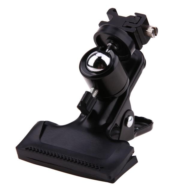 Profesional Metal foto estudio telón de fondo abrazadera bola cabeza Adaptador de zapata soporte de luz de Flash soporte telón de fondo abrazadera uso de la cámara