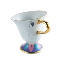 Hot Sale Limited Edition Beauty and the Beast Tea Potts Son: Chip Cup Tea Coffee Cute Ceramic Mug Porcelain Cute Christmas Gift