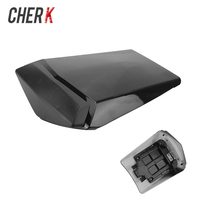 Cherk Motorcycle Black Plastic Rear Seat Cover Cowl Solo Racer Scooter Seat For Honda Yamaha YZF1000 R1 2002 2003