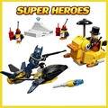 DC Comics Super Heroes Batman 10225 Pingüino Cara Bloques de Construcción de Ladrillo Juguetes de Acción de Los Vengadores Compatible Con El regalo