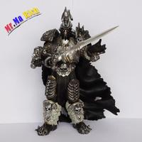 """Game Character Wow Arthas Fall Of The Lich King Arthas Menethil Action Figure 7"""" Toy Hot"""