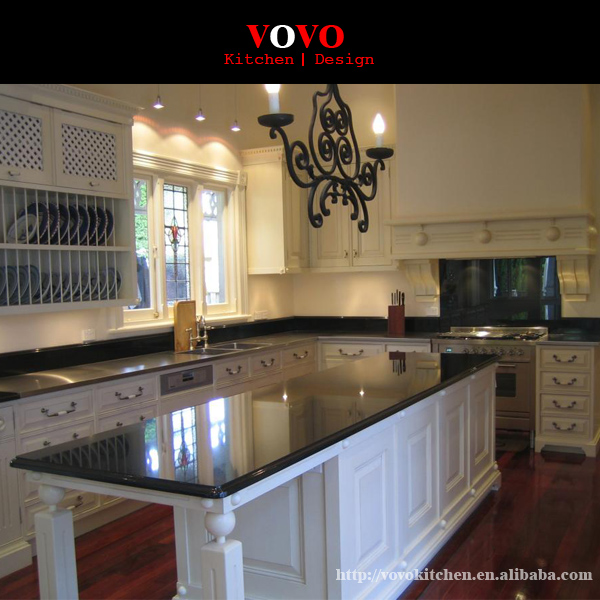 Kitchen Cabinets Factory: Popular Black Quartz Countertops-Buy Cheap Black Quartz