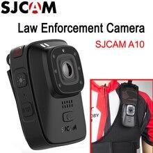 SJCAM A10 портативная полицейская камера носимая камера для тела IR-Cut ч/б переключатель ночного видения Лазерная лампа инфракрасная Экшн-камера