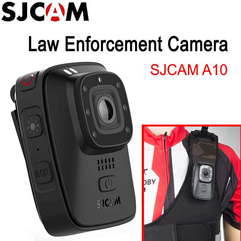 SJCAM A10 Portable Law Enforcement Camera Wearable Body Cameras IR Cut B/W Switch Night Vision Laser Lamp Infrared Action Camera|action cam|cam actionsjcam camera - AliExpress