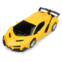 RC Car Transformation Robots Sports Vehicle Model Toys Cool
