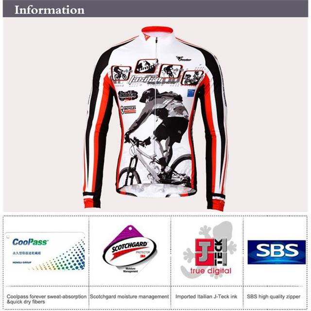 Tasdan Cycling Wear Cycling Clothes Cycling Jersey Sets Breathable Quick Dry Mountain Bicycle Racing Bike Sportswear  for Men