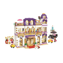 building blocks Girls Series The Heartlake Grand Hotel Model finger brick  Compatible  41101 educational Toys for kids building blocks girls series the heartlake grand hotel model finger brick compatible 41101 educational toys for kids