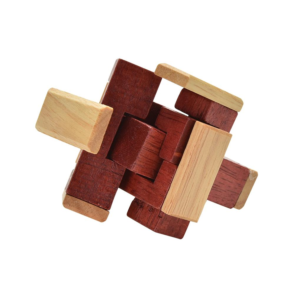 The Six Piece Burr 6 Piece Wooden Cube Puzzle Solution