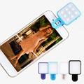 Teléfono móvil led luz selfie cámara selfie artefacto belleza externa universal led de luz de flash