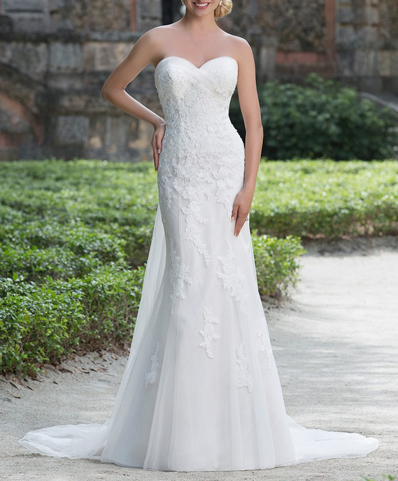 Online Get Cheap Outdoor Wedding Gown Aliexpress