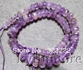 8SE09975 Ametrine Faceted Rondelles Graduated Beads