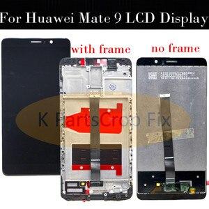 Image 2 - Huawei 社メイト 9 液晶ディスプレイタッチスクリーンデジタイザ Huawei 社メイト 9 フレームと Lcd Mate9 MHA L09 MHA L29 画面交換