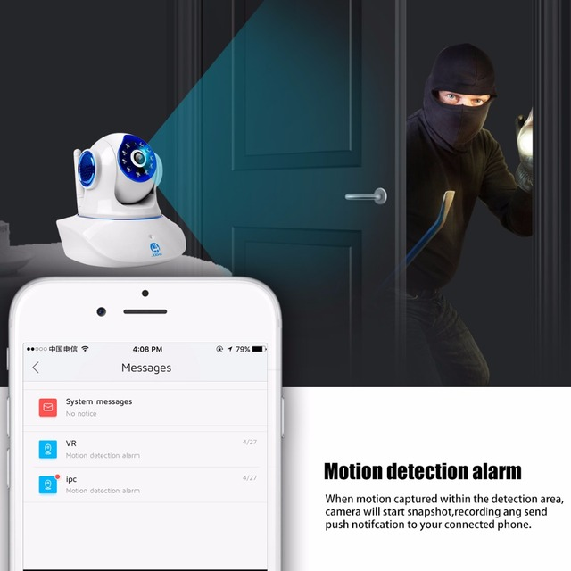 JOOAN Wireless IP Camera 720P 1080P HD smart WiFi Home Security IRCut Vision 1