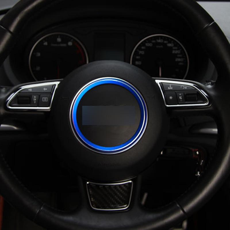 Steering Wheel Decorative Circle Sequins Bright Interior