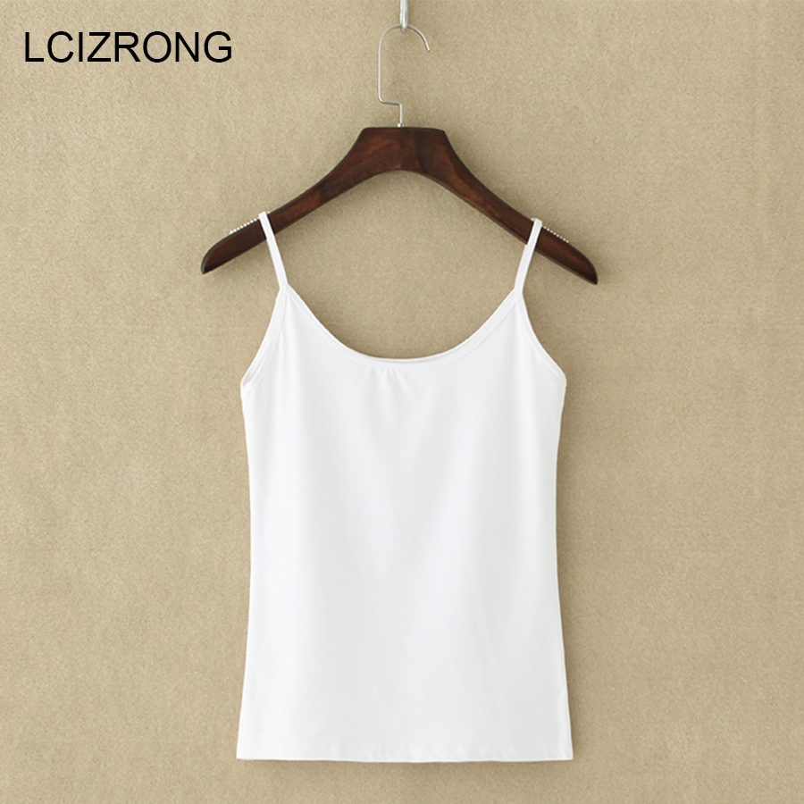 New Sexy Ultra thin Women Sleeveless Tops Summer Party Spaghetti Strap Mini Vest Bodycon Ladies Vest Tanks Casual Camis Tops-in Camis from Women's Clothing