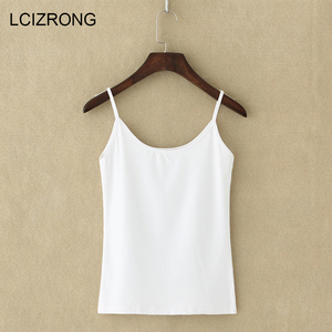 Image 1 - New Sexy Ultra thin Women Sleeveless Tops Summer Party Spaghetti Strap Mini Vest Bodycon Ladies Vest Tanks Casual Camis Tops