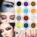 Free shipping+49%off+fashion makeup mineral eyeshadow pigments half glitter eye art cosmetic eye shadow pallete multiple colors