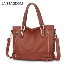 New Messenger Bag Leather Women Handbag Leather Brand Shoulder Messenger Bag Chains Pu Leather Ladies Shoulder Bag Women Casual