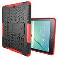 SIBAINA Tab S2 9.7 Броня Hybrid ТПУ + Пластик Ударопрочный Жесткий чехол Для Samsung Galaxy Tab S2 9.7 T810 T815 Стенд Tablet Case
