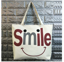 ECO Cotton Reusable Tote Foldable Shopping Bag Women Men Package Buy vegetables traveling canvas