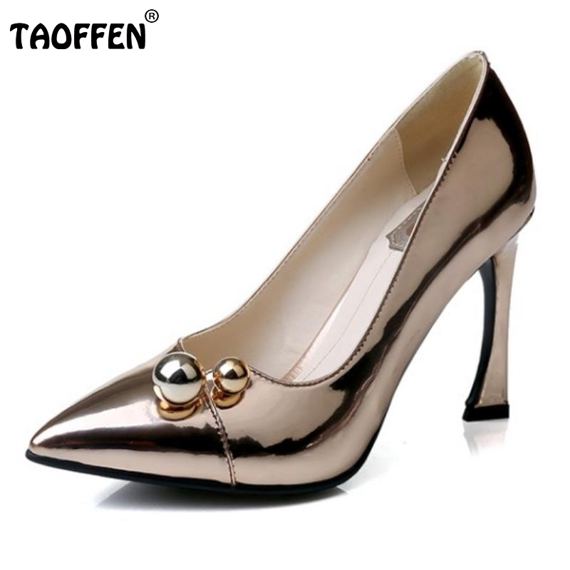 Ladies Real Leather High Heeled Pumps Sexy Party Wedding Shoes Women Fashion Pointed Toe Thick Heeled Footwears Size 33-39 soft leather real womens pumps summer style high heels custom made plus size pointed toe ladies party shoes fashion party shoes