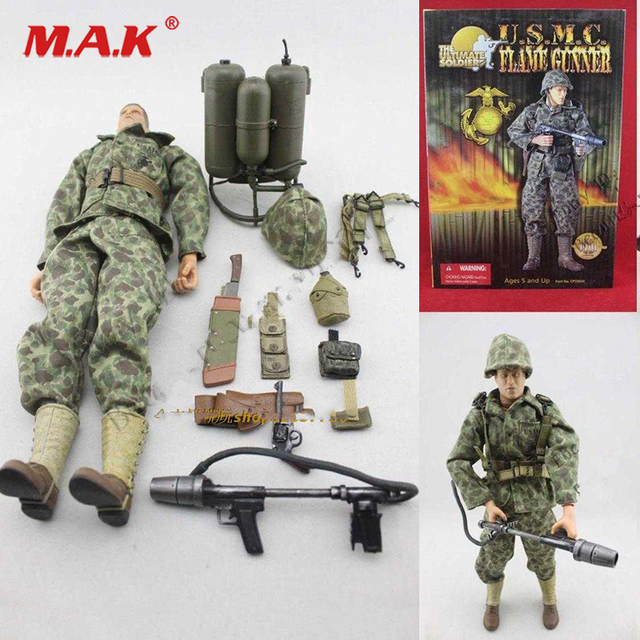 1 6 Action Figure Military World War Ii Us Marine Corps Spitfire