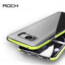 Для Samsung Galaxy S8 S8 плюс TPU и TPE случай с мягкими краями, Rock Guard Series жесткий задняя крышка телефона
