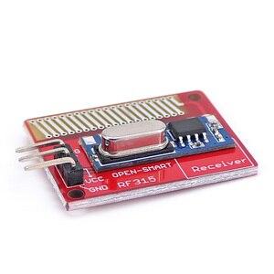 Image 4 - Açık akıllı uzun menzilli 315 MHz RF kablosuz alıcı kiti Arduino için LORA kurulu Mini RF verici alıcı modülü 315 MHz kiti