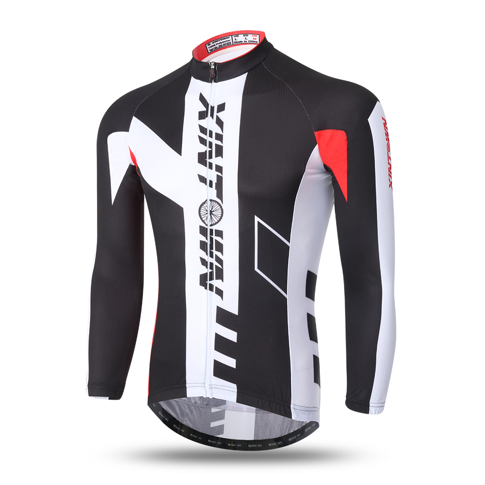 2016 Autumn Fall Long Sleeve Cycling Jersey Bicycle New Style Long Jerseys Clothes Riding Racing Ciclismo Maillot 2-color