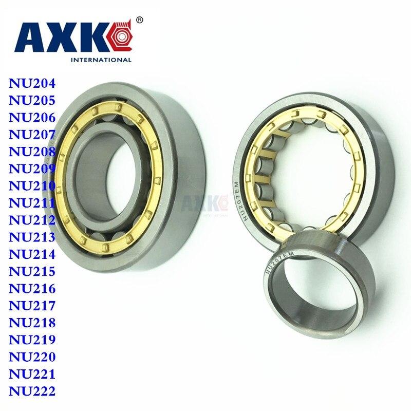 Cylindrical roller bearing NU204 NU205 NU206 207 208 209 210 NU211 NU212 213 214 NU215 NU216 NU217 NU218 NU219 NU220 NU221 NU222 подшипник сферический шариковый lk ucfc207 208 209 210