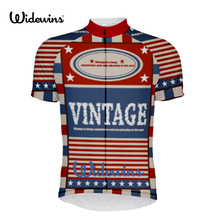 wideiwns vintage cycling jersey maillot bike jersey cycling top clothing jersey customized max cycling top 5825 free shipping spartacus men top sleeve cycling jersey polyester bike clothes black breathable cycling clothing size s to 6xl