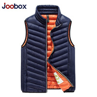 JOOBOX 2018 Winter Duck Down Vest Men Ultra Light High Quality Duck Down Vest Slim Waistcoat