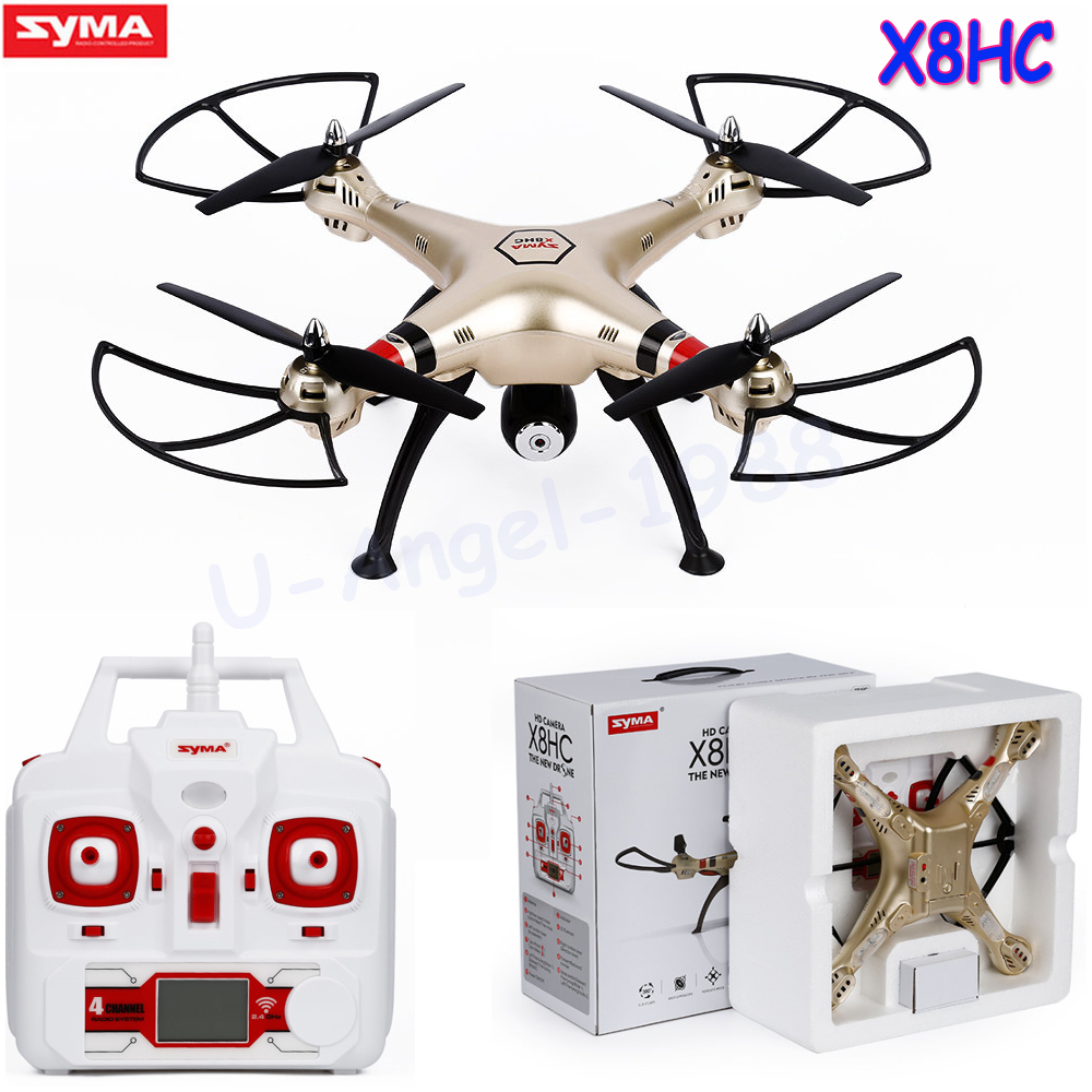 Syma X8HC With 2MP HD Camera 2 4G 4CH 6Axis Altitude Hold Headless Mode 360