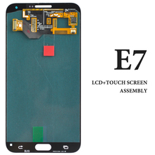 3pcs E700 E700M E700F E700H Screen For Samsung E7 LCD 5.5 Inch Blue White Gold Phone Display Assembly Phone Replacement Parts