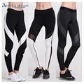 Anyfashion mujeres yoga pantalones leggings medias deportivas de fitness mallas para correr gimnasio ropa de deporte mujer mallas mujer deportivas