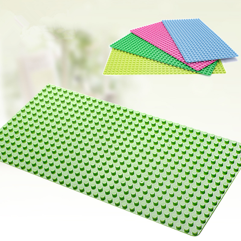 DIY Big Size 51*25.5cm Blocks DIY Baseplate 512 Dots Big Bricks Building Blocks Base Plate Models & Building Toy GH688 kicx pdn 652