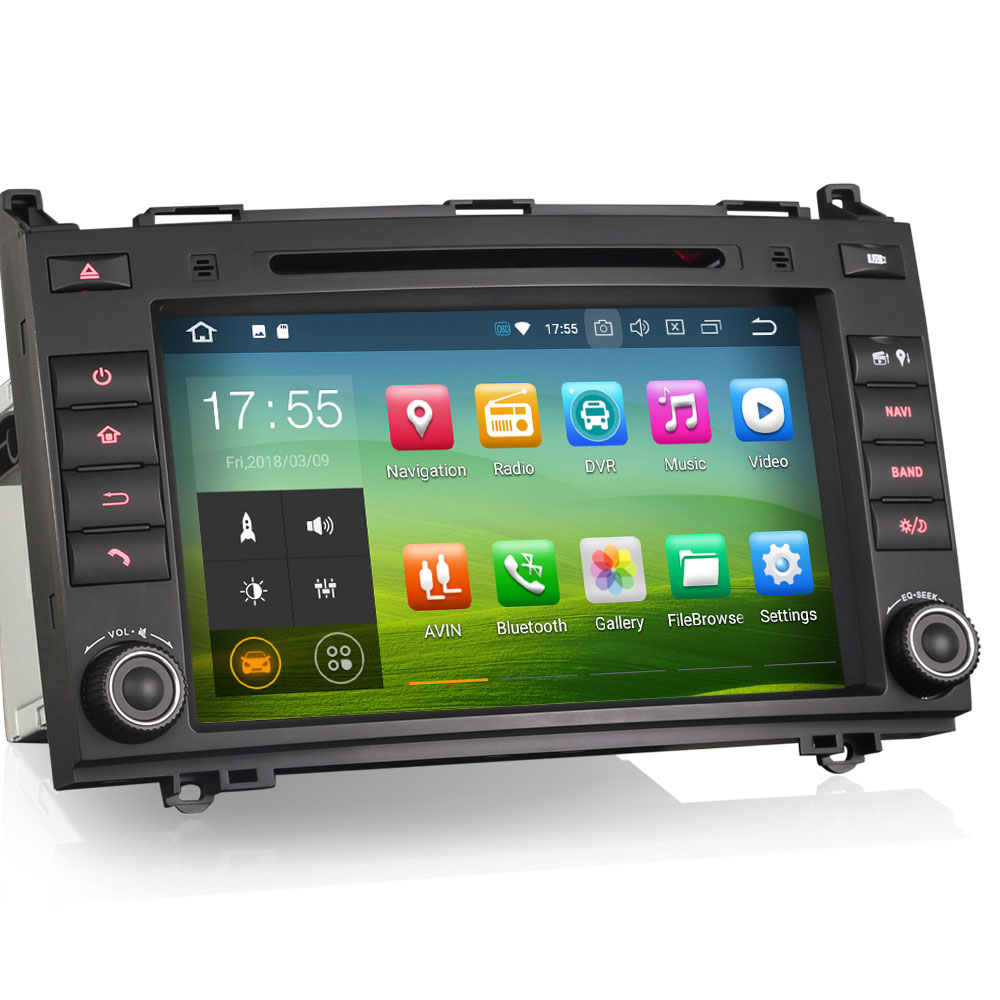 """8"""" 4GB RAM 32GB ROM Android 9.0 Pie OS Car DVD Multimedia GPS Radio for Volkswagen Crafter 2006+ with 3G/4G Dongle Support(China)"""