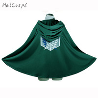 Attack On Titan Cosplay Costume Scout Legion Levi Ackerman Cloak Anime Cartoon Hoodies Halloween Party Cloth